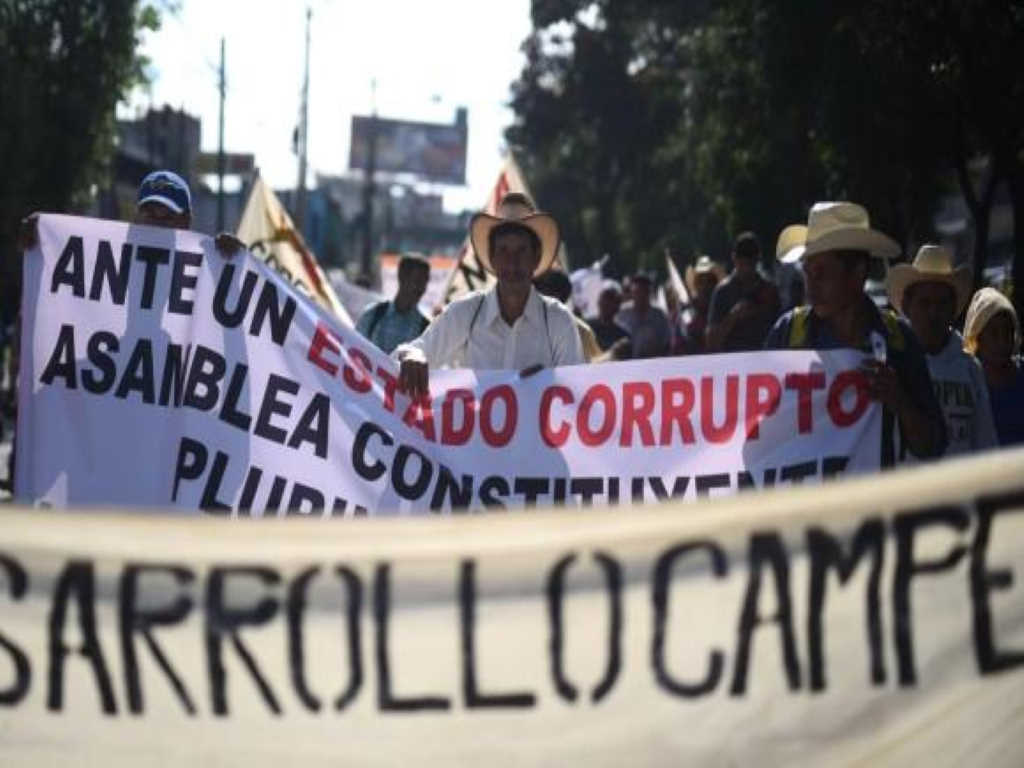 THE PEOPLE'S RESISTANCE OF GUATEMALA: THE FIRST REVOLUTIONARY STEPS