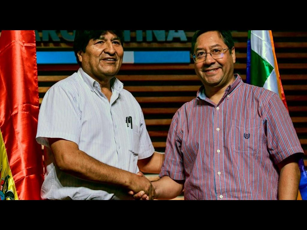 SOCIALISM – YES! THE NEW PRESIDENT OF BOLIVIA, COMRADE LUIS ARCE
