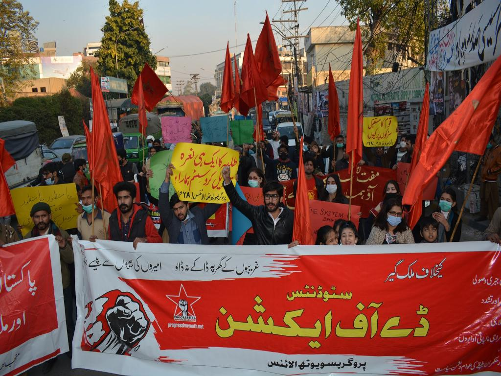 DAYS OF REVOLUTIONARY ACTION BY STUDENTS AND WORKERS IN PAKISTAN