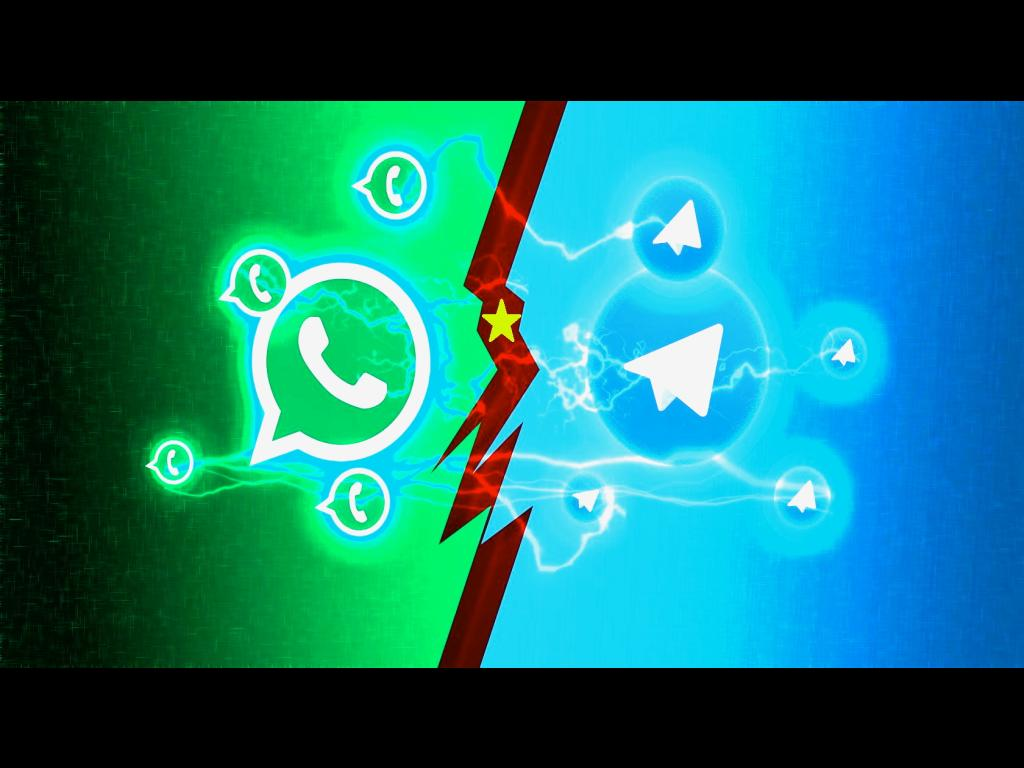 IN A TRAP BETWEEN WHATSAPP AND TELEGRAM – PEOPLE NEED A TECHNO REVOLUTION