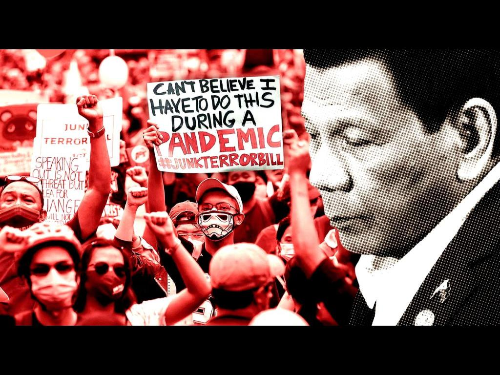 PHILIPPINES: DICTATOR DUTERTE OPENS A YEAR OF CRUEL REPRESSION