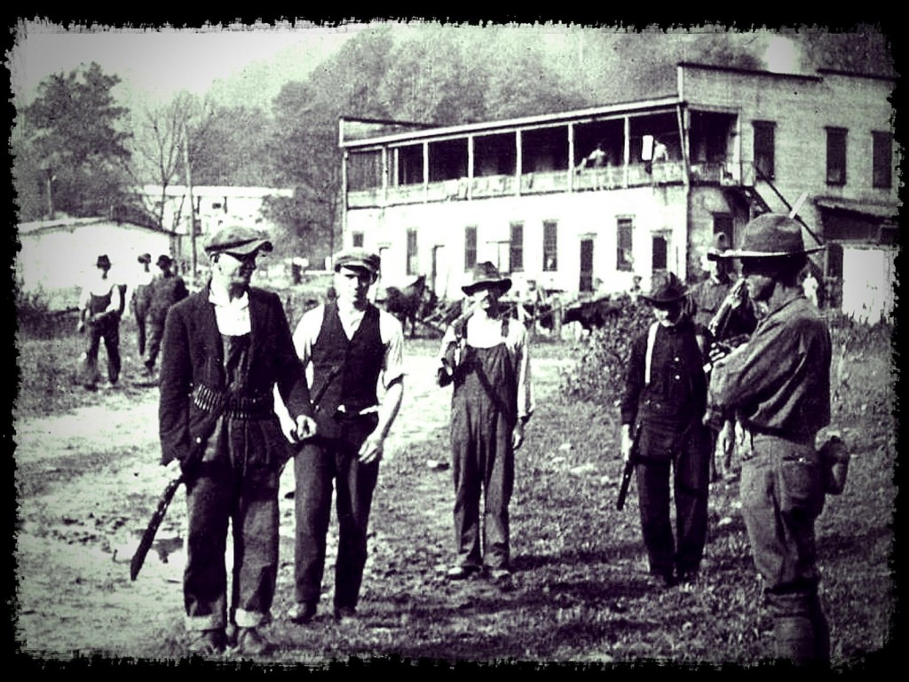 100th ANNIVERSARY OF THE MINERS REBELLION NEAR THE MOUNTAIN BLAIR